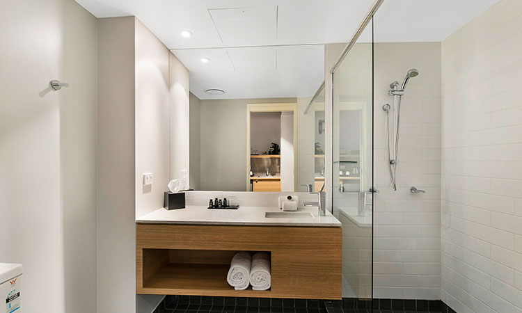 Potters Hotel bathroom